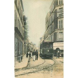 93 BAGNOLET. Tramway rue Sadi Carnot