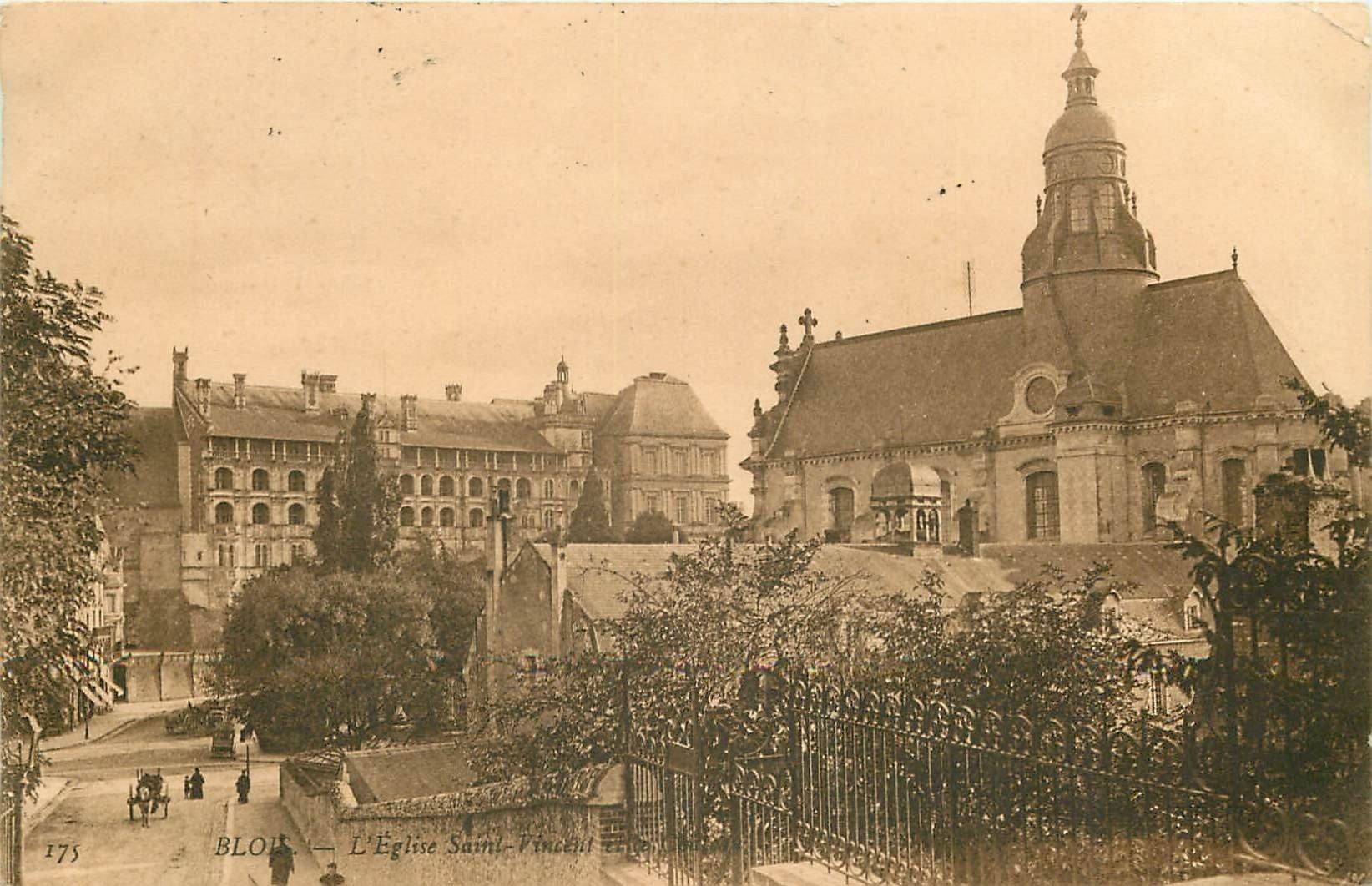 41 BLOIS. Eglise Saint-Vincent 1909