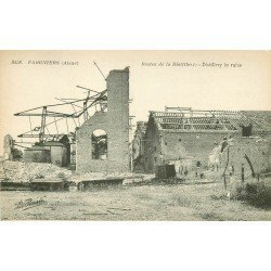 02 FARGNIERS. Restes de la Distillerie. Guerre 1914-18