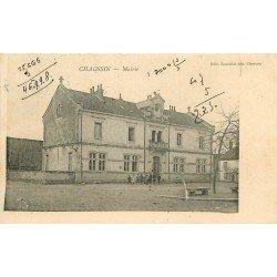 39 CHAUSSIN. La Mairie 1905