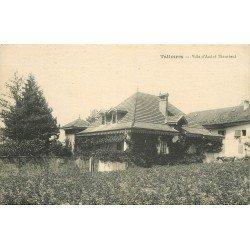 74 TALLOIRES. La Villa d'André Theurieut avec cheval attelage en attente