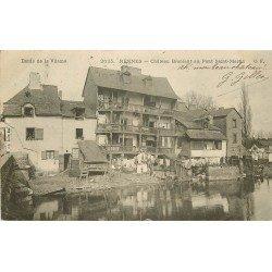 35 RENNES. Château Branlant au Pont Saint-Martin bord de la Vilaine vers 1902