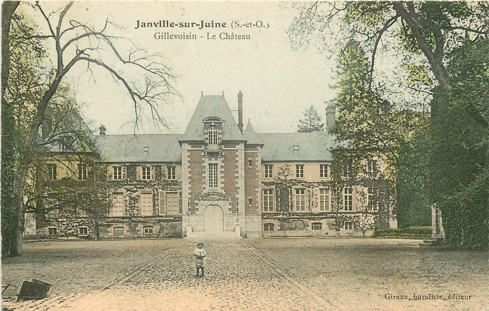 91 JANVILLE-SUR-JUINE. Gillevoisin. Le Château