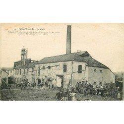 51 FISMES. Sucrerie Vieille 1918