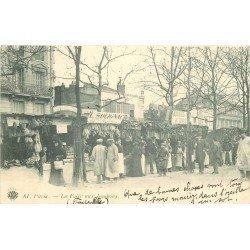 VIEUX METIERS. Paris XI° La Foire aux Jambons Boulevard Richard Lenoir Stands Cochonailles 1901