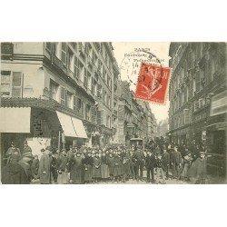 PARIS IX° Faubourg Poissonnière et rue Papillon 1907