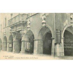 74 ANNECY. Hôtel de Sâles et Commerce de cartes postales rue Paquier