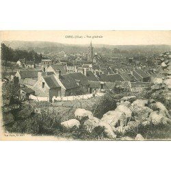 60 CREIL. Vue sur la Ville 1918