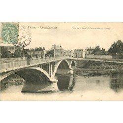 86 VIENNE CHATELLERAULT. Pont de la Manufacture en ciment armé 1908