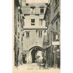 35 RENNES. Boulangerie Chapin et Auberge Aubrée Porte Mordelaise