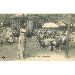 03 VICHY. Joueuse de Diabolo au Nouveau Parc 1909