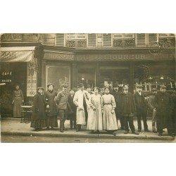 """PARIS X° Pâtisserie Boulangerie Mannevy """" Au Laboureur """" 96 rue du Fg Saint-Martin. Photo carte postale"""