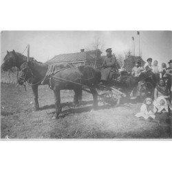 RUSSIE. Un attelage pour promenade vers 1900