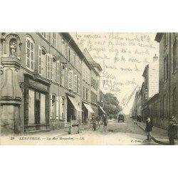 54 LUNEVILLE. Cyclistes rue Banandon