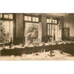 73 AIX-LES-BAINS. Salle à Manger Pension des Dames 3 Bd des Côtes 1929