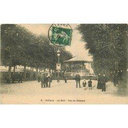 45 ORLEANS. Le Kiosque à musique sur le Mail 1912