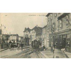 28 CHARTRES. Fiacre devant la Buvette rue d'Aligre