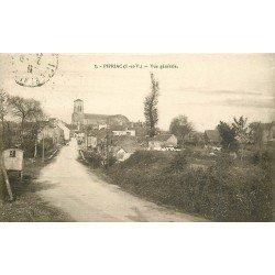 35 PIPRIAC. Vue générale sur le Village 1931