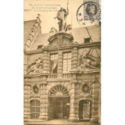 GAND GENT. Entrée du Marché aux Poissons 1928