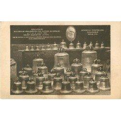 02 SAINT-QUENTIN. Cloches du Carillon et Cantelon Carillonneur