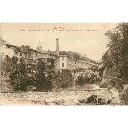 81 PONT DE LARN. Pont et Rive droite 1934 vers Mazamet