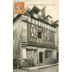 89 AVALLON. Maison du XV° Siècle 1929