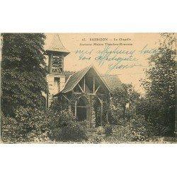 77 BARBIZON. la Chapelle maison de Rousseau