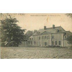 80 BEAUCOURT-SUR-L'HALLUE. Le Château et son Parc 1922