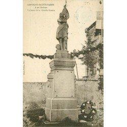 57 SERVIGNY LES SAINTE-BARBE. Monument à ses Enfants Victimes de la Grande Guerre 1929