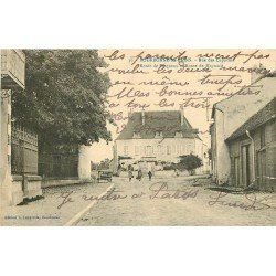 52 BOURBONNE-LES-BAINS. Rue des Capucins Routes de Serqueux et Maynard 1924