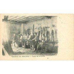 37 COLONIE DE METTRAY. Atelier de Menuiserie