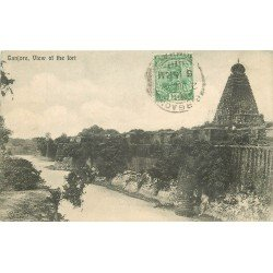 INDE. Tanjore 1919 (Pli coin droit)