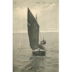 76 YPORT. Barque de Pêche et Pêcheurs