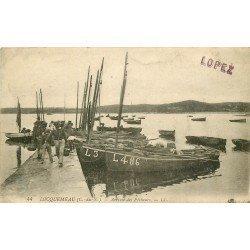22 LOCQUEMEAU. Arrivée des Pêcheurs et Barques de Pêche. Métiers de la Mer