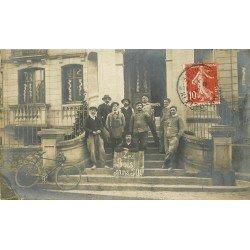 61 TESSE-LA-MADELEINE. Les Bois sans Soif en 1911. Photo carte postale ancienne
