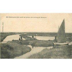 17 MARENNES. Claires pour faire verdir les Huîtres 1905