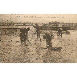 33 BASSIN ARCACHON. Les Parcs aux Huîtres. Ostréiculteurs et Crustacés 1924