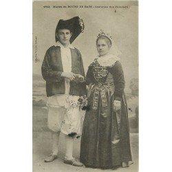 44 BOURG DE BATZ. Mariés en Costumes de Paludiers 1907