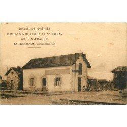 17 LA TREMBLADE. Ostréiculteur Guérin Chaillé 91 rue des Bains. Huîtres Portugaises de Claires + Tarifs