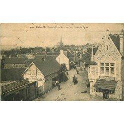 22 PAIMPOL. Hôel Garage Gicquel rue du Pont Neuf 1924