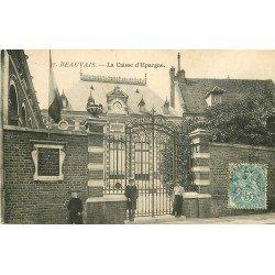 60 BEAUVAIS. Banque la Caisse d'Epargne 1905