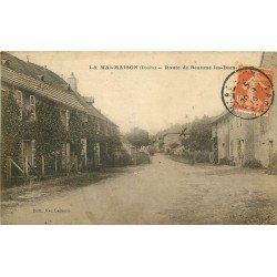 25 LA MALMAISON. Route de Beaume-les-Dames 1916