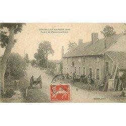 18 COURS-LES-BARRES. Route de Fourchambault 1911