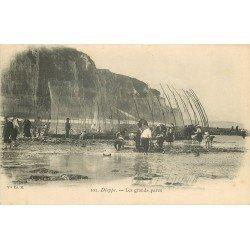 76 DIEPPE. Les Grands Parcs pour Poissons. Métiers de la Mer vers 1900