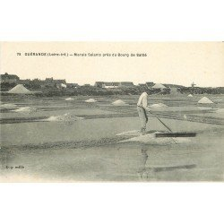44 GUERANDE. Marais Salants près du Bourg de Saillé. Métiers de la Mer et Artisans Paludiers