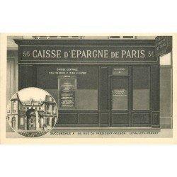 92 LEVALLOIS-PERRET. Banque Caisse Epargne 56 rue du Président Wilson