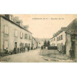 64 CHERAUTE. Quartier Garrat ou du Presbytère 1931