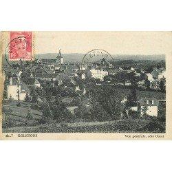 19 EGLETONS. Vue sur la Ville 1947