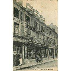 64 MAULEON. Café, Tabac et Comestibles rue de la Navarre