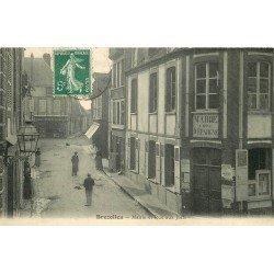 28 BREZOLLES. Mairie et Banque Caisse Epargne rue aux Juifs